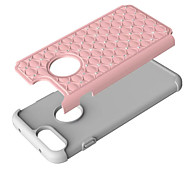 Fashion Shining Point Drill PC Diamond Silicone Design Cover Case For Apple IPhone7  IPhone7 Plus