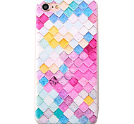Beauty Scale Pattern High Quality Scrub TPU Material Soft Phone Case For iPhone 7 7 Plus 6S 6Plus