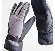 guantes de moto de algodón de la moda de invierno resistente al agua y el frío
