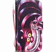 Tuta A portafoglio / A fantasia Gatto Similpelle Difficile Copertura di caso per AppleiPhone 7 Plus / iPhone 7 / iPhone 6s Plus/6 Plus /