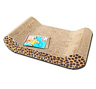 Cat Toy Pet Toys Interactive Scratch Pad Wood Random Color