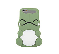 Fashion 3D Cartoon Soft Silicone Case for iPhone7Plus 7 6Plus 6 5S  Mobile Phone Back Covers