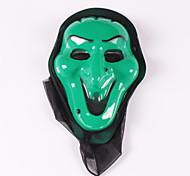 (Pattern is Random)1PC Halloween Mask Masquerade Party  Scream Vampire Mask Skeleton Ghost