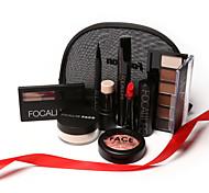 7 Blush+Sombra para Olhos+Batons+Others Secos / Molhado / Mate / Brilho / Mineral Olhos / Rosto / LábiosGloss Colorido / Humidade /