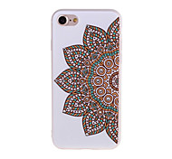 Per Custodia iPhone 7 / Custodia iPhone 7 Plus Con diamantini / Effetto ghiaccio / Fantasia/disegno Custodia Custodia posteriore Custodia