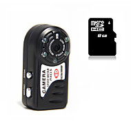 Mini Camcorder HY8000 1080P Camera Night Version with 8G MicroSD