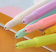 Lovely Feather Fluorescent Personality Neutral Pen(10PCS)