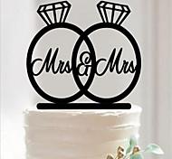 Acrílico Decoraciones de la boda-1Piece / Set No Personalizado