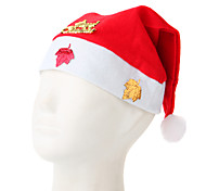 Gold Stamping Christmas Hat
