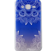 For Samsung Galaxy J5 J5(2016) Case Cover Lace Flowers Pattern Painting Super Soft TPU Material
