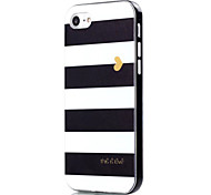 For iPhone 7 Case / iPhone 7 Plus Case Shockproof / Pattern Case Back Cover Case Lines / Waves Soft TPU Apple iPhone 7 Plus / iPhone 7