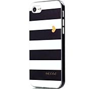 Para Funda iPhone 7 / Funda iPhone 7 Plus Antigolpes / Diseños Funda Cubierta Trasera Funda Líneas / Olas Suave TPU AppleiPhone 7 Plus /