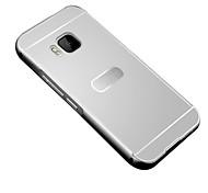 Per Custodia HTC Placcato Custodia Custodia posteriore Custodia Tinta unita Resistente Acrilico HTC