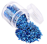1pcs New Fashion Nail Glitter Powder Personal Design DIY Nail Art Decoration Colorful Nail Art Accessories 3D Nail Stickers(10G)