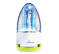 RICHSO Water Dance Outdoor  Bluetooth Portable Speaker & Flashlight with Clear Sound Tf Card Reader / FM / USB