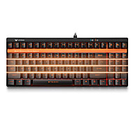 Gaming Keyboard Mechanical keyboard Rapoo V500S backlight Black Shaft programmable 87keys no conflict