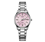 Women's Fashion Watch Quartz Water Resistant / Water Proof Stainless Steel Band Casual Luxury Silver