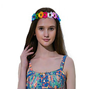 Fever Light Up Hippy Flower Crown With Led Halloween GiftChristmas Gift Party Gift Idea