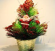 mini albero di Natale ornamenti palla pineta