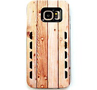 For Samsung Galaxy S7 S7edge Anti-Drop-Type Light-Colored Vertical Stripe Pattern  Rubber Combo Phone Case