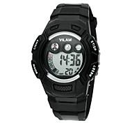 Vilam Infantil Relógio Esportivo Relógio de Pulso Relogio digital Digital LCD Calendário Impermeável Cronômetro Plastic BandaDesenhos