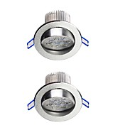 Downlight de LED Branco Quente / Branco Frio LED 2 pçs