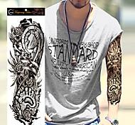 Временные тату Прочее Non Toxic Большой размер Waterproof Женский Мужской Подростки Вспышка татуировки Временные татуировки