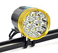 Налобные фонари огни безопасности Ремешок для налобного фонаря LED 18000 Люмен 1 Режим Cree XM-L T6 Подсветка для авто Угловой фонарь