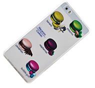 hamburgo padrão TPU material de proteção do telefone para Huawei Huawei y5 honra ii 5a y6 ii p9 Lite p8 Lite