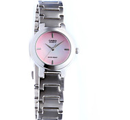 Women's Fashion Watch Casual Watch Quartz Water Resistant / Water Proof Stainless Steel Band Casual Silver