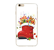 Christmas Gifts TPU Soft Case Cover For Apple iPhone 7 7plus iPhone 6 6 Plus iPhone 5 5C iPhone 4