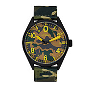SINOBI Men Sport Watch Fashion Camouflage Nylon Band Unique Sport Men Watch