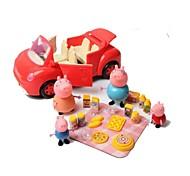 Juegos de Rol Modelismo y Construcción / / Cerdo Plástico Rojo Para Niños