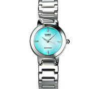 Women's Fashion Watch Quartz Water Resistant / Water Proof Stainless Steel Band Casual Silver
