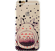 Case  For iPhone 7  7Plus 6S 6 Plus Rabbit Pattern Relief Love Hole Position Scrub TPU Material