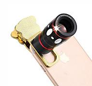 4 в 1 универсальный зажим объектив камеры (телеобъектив / объективе / широкоугольный объектив / макро объектива)