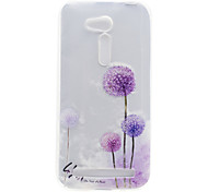 Dandelion Pattern High Permeability TPU Material Phone Shell For ASUS ZB551KL ZB452KG