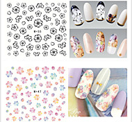 9pcs Nail Art Sticker Adesivi 3D unghie makeup Cosmetic Nail Art Design