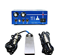 Solong Tattoo Double Output Digital Tattoo Power Supply  Foot Pedal  Clip Cord Kit P130-2