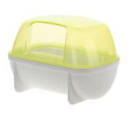Roedores Gaiolas Portátil Plástico Amarelo