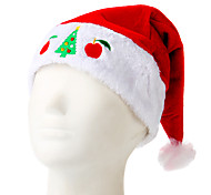 Flash Embroidered Christmas Hat Apple Tree