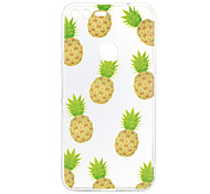 For Google Pixel XL Case Cover Fruits Pattern Back Cover Soft TPU for Google Pixel
