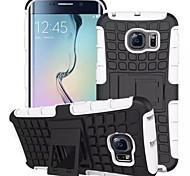для Samsung Galaxy s7 крайний случай шина гибрид ПК жесткий ТПУ ударопрочный чехол удар стенд галактики s6 s5 s4 мини края плюс