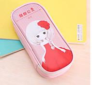 Sweet Princess Pu Pen Bag Pencil Case