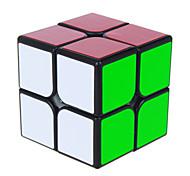 Yongjun® Cube de Vitesse  2*2*2 Vitesse Cubes magiques Jouet Educatif Noir Autocollant lisse / Anti-pop ressort réglable ABS