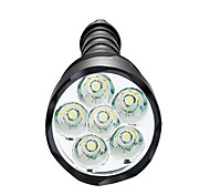 Luci Torce LED LED 3800 Lumens 5 Modo LED 18650 / AAA Dimmerabile / Impermeabili / Alta intensità / Ultraleggero