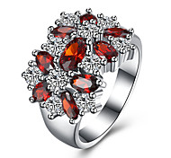 created Opal Stone wedding Rings for Women Jewelry CZ Diamond Rings Female Plated AAA Austria Crystals