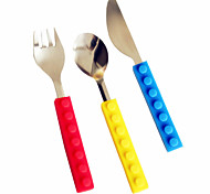 Acciaio inossidabile 304Forchetta da tavola / Coltello da tavola / Cucchiaino da tè / Set / Forchetta da insalata / Mestolo per sugo /