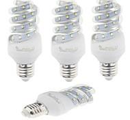 9W E26/E27 LED лампы типа Корн T 23 SMD 2835 800 lm Тёплый белый / Холодный белый Декоративная AC 220-240 V 4 шт.