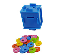 Bird Toys Plastic Blue